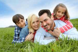 Happy family after improved communication with family therapy From Allan Friedman